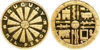 1000 Песо Уругвай Золото