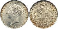1/2 Crown United Kingdom of Great Britain and Ireland (1801-1922) Silver Victoria (1819 - 1901)
