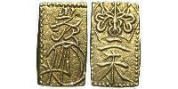 2 Shu Tokugawa shogunate (1600-1868) / Japan Gold/Silber
