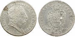 120 Grana Italian city-states Plata Ferdinand I of the Two Sicilies (1751 - 1825)