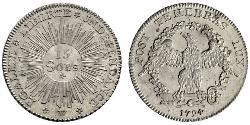 15 Sol Schweiz Silber
