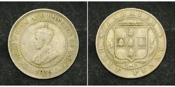 1/2 Penny British Empire (1497 - 1949) / Jamaica (1962 - ) Copper/Nickel George V of the United Kingdom (1865-1936)