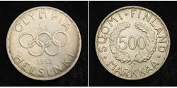 500 Mark Finlandia (1917 - ) Plata