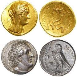 Ptolemaic Kingdom (305BC - 30BC) - Egypt (8) monedas - spa1