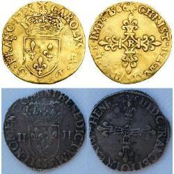France - 16th century (12) coins - spa1