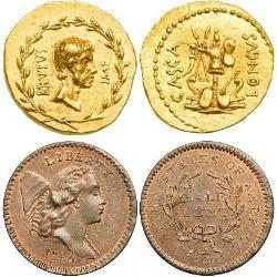 Most expensive coins sold on auctions (15) pièces - dpa1