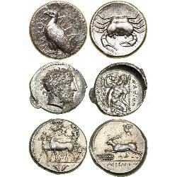 Nice Ancient Tetradrachms (33) coins - spa1