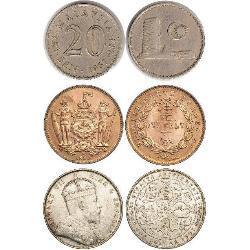 Malaysian coins (20) coins - spa1