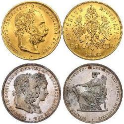 Austria-Hungry (Franz Joseph I) (16) monedas - spa1