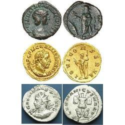 Roman Imperial Coins minted by Gallienus (15) monedas - spa1