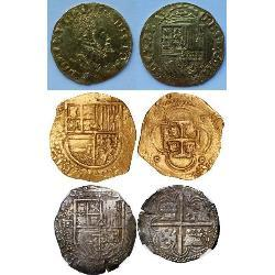 Philip II of Spain (1556 - 1598) (17) coins - spa1