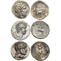 Seleukid Empire (312 BC–63 BC) (16) monedas - spa1