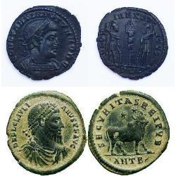 Follis - cheap coin from Roman Empire decline time (20) pièces - spa1