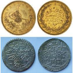 Coins of Ottoman Empire (16) Münzen - spa1