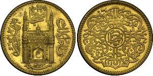 1 Mohur Hyderabad (1724 - 1948) Gold