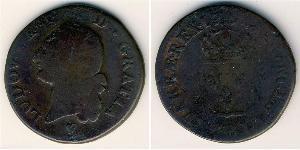 1 Sol Reino de Francia (843-1791) Cobre