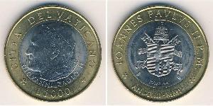 1000 Lira Vatican (1926-) Bilame