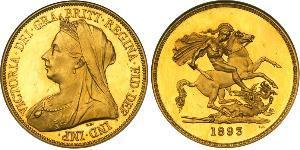 5 Pound Vereinigtes Königreich von Großbritannien und Irland (1801-1922) Gold Victoria (1819 - 1901)