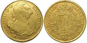 4 Escudo Chile Gold Charles III of Spain (1716 -1788)