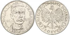 10 Zloty Second Polish Republic (1918 - 1939)  Romuald Traugutt