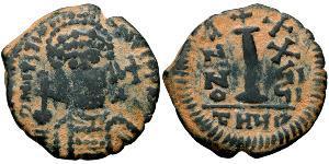 Деканумиум Византийская империя (330-1453) Бронза Юстиниан I (482-565)