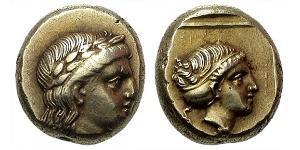 Hekte Стародавня Греція (1100BC-330) Електрум
