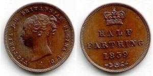 1/2 Farthing United Kingdom of Great Britain and Ireland (1801-1922) Bronze Victoria (1819 - 1901)