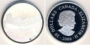20 Dollar Canada Silver