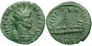 1 Quinarius Британська Імперія  (286-296) Бронза Аллект (?-296)