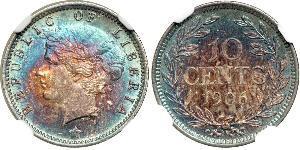 10 Cent Liberia