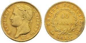 40 Франк Первая Французская империя (1804-1814) Золото Наполеон I(1769 - 1821)