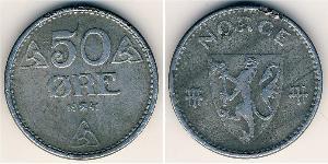 50 Ore Noruega Zinc