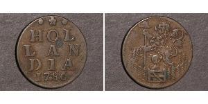 1 Duit Dutch Republic (1581 - 1795) Copper