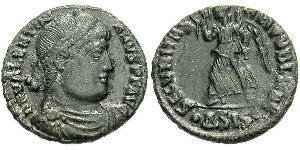 1 Follis / 1 AE3 Imperio romano (27BC-395) Bronce Valentiniano I (321-375)