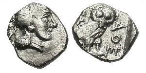 1 Obolo Grecia antica (1100BC-330) Argento