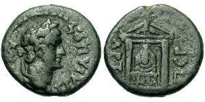AE_ Impero romano (27BC-395) Bronzo Traiano (53-117)
