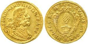 1 Ducat States of Germany Or Ferdinand III, Holy Roman Emperor (1608-1657)