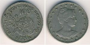 100 Reis Brasilien Kupfer/Nickel
