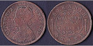 1/4 Anna Britisch-Indien (1858-1947)  Victoria (1819 - 1901)