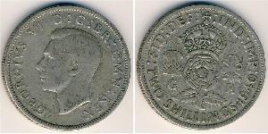 2 Shilling United Kingdom Silver George VI (1895-1952)
