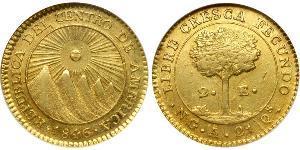 2 Ескудо Гватемала Золото