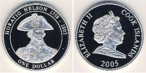 1 Dollaro Isole Cook Argento