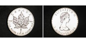 5 Dollar Canada Silver Elizabeth II (1926-)