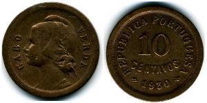 10 Centavo Portugal / Cape Verde (1456 - 1975) Bronze