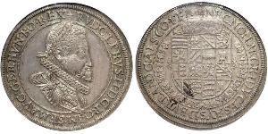 1 Thaler Austria  Silver Rudolf II, Holy Roman Emperor (1552 - 1612)