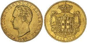 2000 Reis Kingdom of Portugal (1139-1910) Gold Luís I of Portugal (1838 - 1889)
