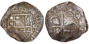 8 Real Spagna / Spanish Colonies Argento Carlo IV di Spagna (1748-1819)