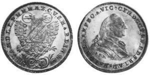 20 Kreuzer Kurfürstentum Bayern (1623 - 1806) Silber