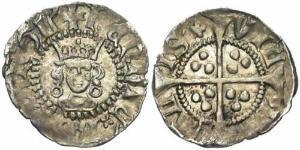1/2 Пенни Королевство Англия (927-1649,1660-1707) Серебро Генрих VI (1421-1471)