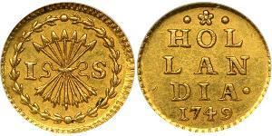 1 Stuiver Dutch Republic (1581 - 1795) Gold